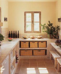 Le plan de travail cuisine en verre ou en céramique