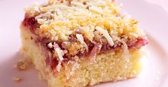 Nothing beats timeless, classic baked treats, so revisit these crowd-pleasing raspberry coconut slices!
