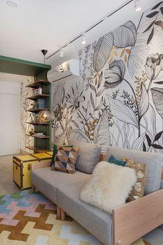 Home Interior Living Room .Home Interior Living Room Room Interior Design, Interior And Exterior, Decorating Your Home, Interior Decorating, Living Room Decor, Bedroom Decor, Dining Room, Wall Design, Design Case