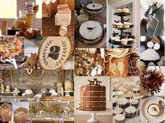 autumn wedding inspiration board