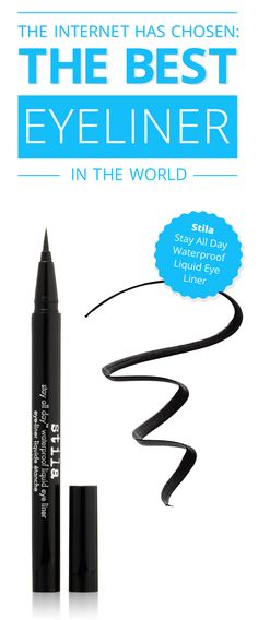 This eyeliner is a game changer, ladies. This waterproof gem will stay on all day (and all night) if you want. It won't smudge or budge! #makeup www.comparaboo.com