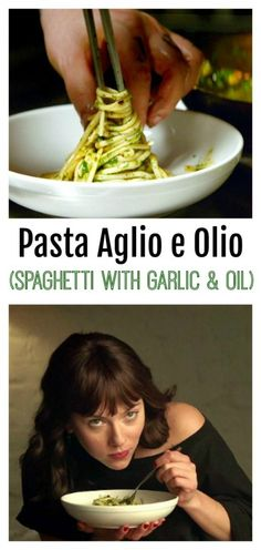 PASTA AGLIO E OLIO: This simple dish translates as spaghetti with garlic and oil in Italian. Traditional, luxurious tasting, easy-to-make meal with just a few ingredients you always have on hand. Chef Pasta Recipe, Healthy Pasta Recipes, Healthy Pastas, Chef Recipes, Italian Recipes, Dinner Recipes, Cooking Recipes, Aglio E Olio Recipe, Pasta Aglio E Olio