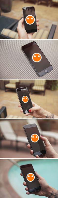 Display your mobile app or web page design with this nice collection of high-quality iPhone 6 photo mockups. The PSD files include smart objects so you can easily obtain a neat, photorealistic presentation. Web Design, Tool Design, Graphic Design, Mobile Mockup, Smartphone, Apps, Mobile App Design, Mockup Templates, Presentation Design
