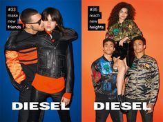 Diesel 'For Successful Living' Project - Fall/Winter 2016 Campaign Look-02