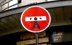 French street artist Clet Abraham Hijacks Street Signs 13