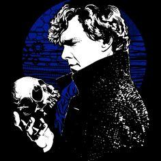 46551ba31cb6 Sherlock Skull T-Shirt. Day Of The ShirtSherlock Mind PalaceSherlock ...