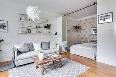 Jurnal de design interior: Amenajare practică într-o garsonieră de 35 m²
