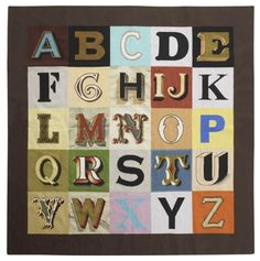 Peter Blake alphabet, i like the use of typography, no two letters are the same, they all have own unique style
