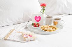 Surprise that special someone with breakfast in bed. Find a delicious #recipe for Swedish Pancakes on the blog. #kikkiK www.kikki-k.com