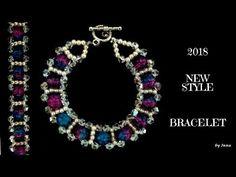 Bracelets - Gold & Silver Bracelets for Women Beaded Bracelet Patterns, Beaded Jewelry, Jewelry Bracelets, Beaded Necklace, Jewlery, Necklaces, Silver Bracelets For Women, Bracelet Tutorial, Loom Bracelets