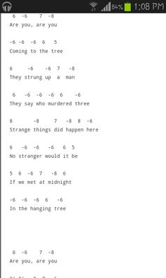 Hanging tree #harmonica #tabs 2