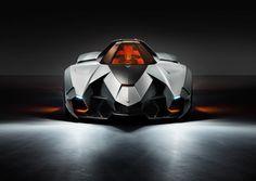 Lamborghini Egoista | Looks like the Mach 5, Speed Racer would love this car!