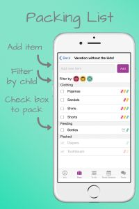 The App That Makes Packing a Snap!  Learn how Little Peanut on the Go makes packing for your kids a snap!