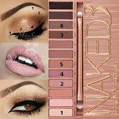 #makeup #make_up #beautey #naked3 #naked