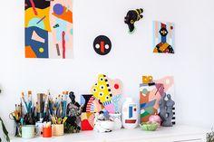 El refugio technicolor de Mireia Ruiz - De colores | Galería de fotos 11 de 22 | AD