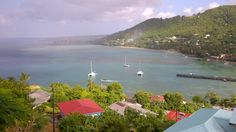 A little bit of paradise in st lucia