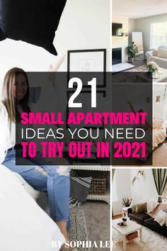 Sophia is right, you DO need to try these ideas out in 2021!! I already ordered about half the things in this post and they have already helped me use my space sooo much better. First Apartment Checklist, First Apartment Essentials, Apartment Hacks, Apartment Kitchen, Bedroom Apartment, Apartment Living, Moving House Tips, Moving Tips, Moving Hacks