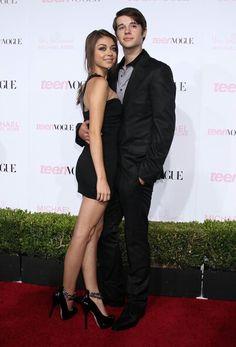 Matt Prokop and Sarah Hyland at Teen Vogue