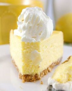 The Best Lemon Cheesecake. Ever - - Lemon cheesecake is an ultimate cheesecake. It's fresh, and feel so summery yet it's a great dessert for any season. These lemon cheesecake so yummy…. Lemon Cheesecake Recipes, Lemon Recipes, Cheesecake Desserts, Best Cake Recipes, Sweet Recipes, Bread Recipes, Food Cakes, Cupcake Cakes, Cup Cakes