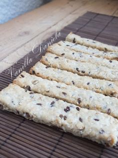 vanilla: Sok magvas sós keksz Kiflice Recipe, Healthy Crackers, Appetizers For Party, Creative Food, Cake Cookies, Finger Foods, Cooking Recipes, Easy Recipes, Easy Meals