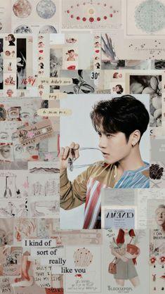 Jackson Wang, Mark Jackson, Got7 Jackson, Youngjae, Yugyeom, Got7 Aesthetic, Aesthetic Collage, Character Aesthetic, Tumblr Wallpaper