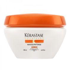 Masquintense 200ml  A coleção Kérastase Nutritive é uma gama de nutrição desenhada para tornar os cabelos macios e irresistíveis ao toque, tem como alvo os sintomas do cabelo seco com uma rotina personalizada para três níveis de secura.