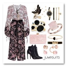 One and Done: Jumpsuits by igiulia on Polyvore featuring Alaïa, Edie Parker, Anne Klein, Effy Jewelry, Blue Nile, Lanvin, Rebecca, Marc Jacobs, Chopard and Yves Saint Laurent