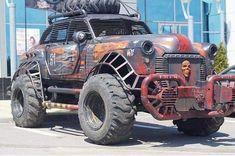 Mad Max wishes he had this. Monster Trucks, Monster Car, Cool Trucks, Big Trucks, Semi Trucks, Rat Rods, Custom Trucks, Custom Cars, Zombies