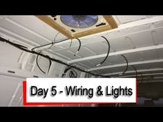 Mercedes Sprinter iVan - Wiring and Lighting - YouTube