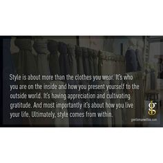 Thoughts on style ...