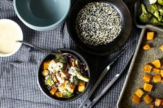 miso sweet potato + broccoli bowl | Miso Sweet Potato and Br… | Flickr