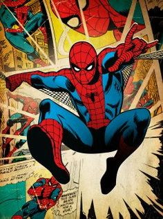 Drawing Marvel Comics spiderman peterparker peter parker marvel silver age retro vintage classic - See amazing artworks of Displate artists printed on metal. Easy mounting, no power tools needed. Poster Marvel, Marvel Comics, Comic Poster, Marvel Comic Books, Marvel Heroes, Comic Books Art, Marvel Avengers, Amazing Spiderman, Spiderman Classic