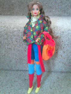 United colors of benetton barbie doll teresa 1990 | 34+3.5