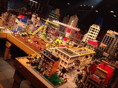 The Lego Movie set is at Legoland, CA right now!