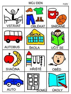 Pro Šíšu: Pracovní listy POZNÁNÍ Baby Album, Book Activities, Adhd, Montessori, Preschool, Language, Teaching, Education, Books