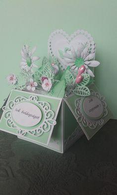 Esküvői gratuláló dobozka 1 (wedding box)