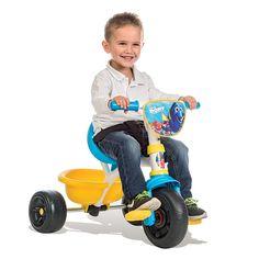 Trojkolka od výrobcu #Smoby s motívom rozprávky Hľadá sa Dory (Finding Dory) je originálna trojkolka v atraktívnom prevedení vhodná už od 15 mesiacov. Tricycle, Dory, Keds, Baby Strollers, Children, Baby Prams, Young Children, Boys, Kids