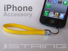 iString Add-on: The Safety belt for iPhone 4/4S and iPhone 5 by Rudi Peter - Blue Horizon Group USA LLC — Kickstarter