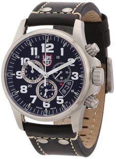 Luminox Men's 1848 Stainless-Steel Analog Bezel Watch: Watches: Amazon.com