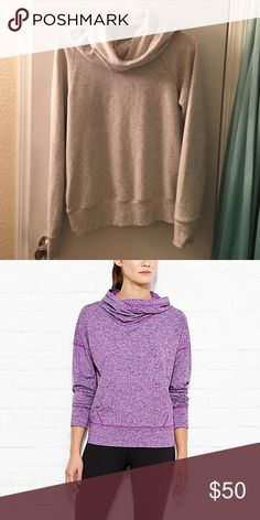 Last season's Lucy Inner Strength pullover, XS Last seasons style of Lucy Inner Strength pullover hoodie. Stock photo indicates fit. Extra small, cozy fleece in heather. Worn once. Lucy Tops Sweatshirts & Hoodies