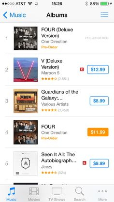 Four is already number 1!