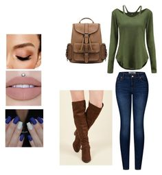 """""""Total Drama Reader Insert: The Trip Around The World Outfit 1#"""" by just-your-average-girl-123 on Polyvore featuring 2LUV, Madden Girl and Avon"""