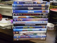 awesome (15) Childrens Adventure DVD Lot Disney Recess The Croods Monster House & MORE - For Sale View more at http://shipperscentral.com/wp/product/15-childrens-adventure-dvd-lot-disney-recess-the-croods-monster-house-more-for-sale/