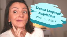 Second Language Acquisition - When to Start for Multilingual Child Language Acquisition, Bilingual Education, Vocabulary Activities, Second Language, Family Signs, Perfect Timing, Kids Learning, Children, Boys