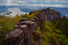Angel's Rest Columbia River Gorge - Dad's 60th birthday hike