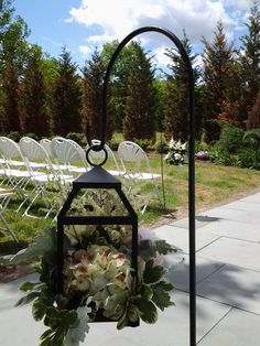 Sheppard's Hooks for Ceremony Lantern provided By the Details Matter