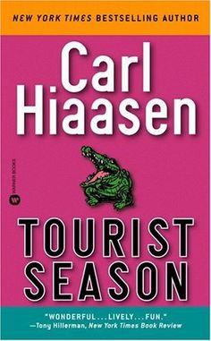 Tourist Season  Funny satirical novel, especially if know know South Florida.