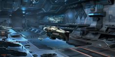 Hangar of Enigma, for Alexander Barnes's book The Amaranth