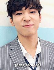 Jeon Wonwoo's charming nose scrunch
