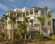 images about Coastal House Plans on Pinterest   Beach house    L shaped   elevated pool makes this very cool